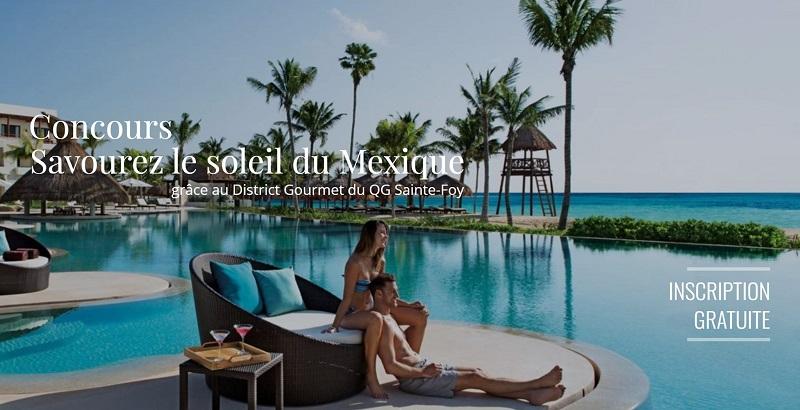 Concours Gagnez un voyage pour 2 personnes à l'hôtel Secrets Akumal de Riviera Maya au Mexique!