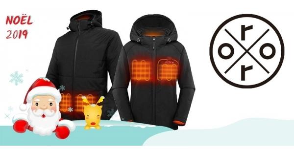 Concours Gagnez une veste chauffante Ororo et passez le reste de l'hiver bien au chaud!