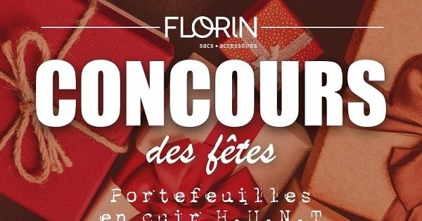 Concours Gagnez un portefeuille pour hommes ou pour femmes offerts par Boutique Florin!
