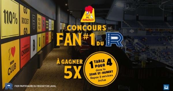 Concours Gagnez une table pour 4 chez St-Hubert!