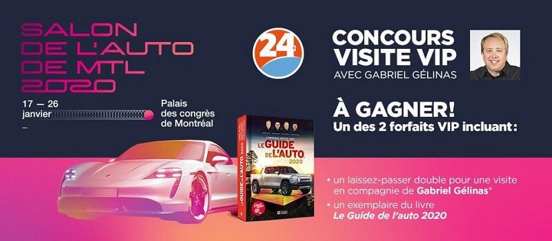Concours SALON DE L'AUTO 2020!