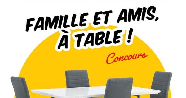 Concours Gagnez ce mobilier de cuisine 5 morceaux offert par EconoMax!