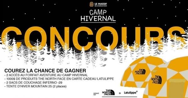 Concours Gagnez 1000$ de produits The North Face chez Latulippe!