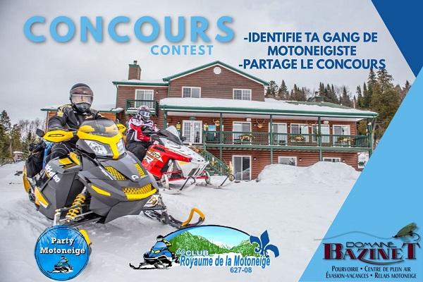 Concours Gagnez un forfait Party Motoneige!