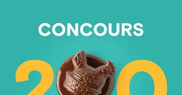 Concours Gagnez 200 petites poules en chocolat livrées chez vous!