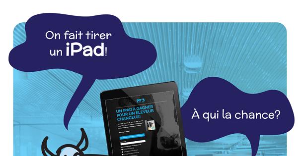 Concours Gagnez un iPad 10,2 po Retina offert par Équipements PFB!