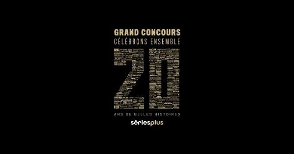 Concours 20 ans de belles histoires à Série Plus!
