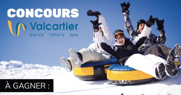 Concours Gagnez vos entrées au Village vacances Valcartier!