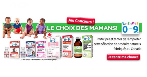 Concours Gagnez une sélection de produits pour soigner le rhume de Homeocan!
