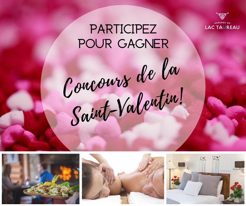 Concours Gagnez un forfait de luxe à l'Auberge du Lac Taureau pour 2 personnes d'une valeur de 1000$!