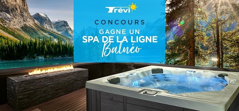 Concours Gagnez un spa Trévi!