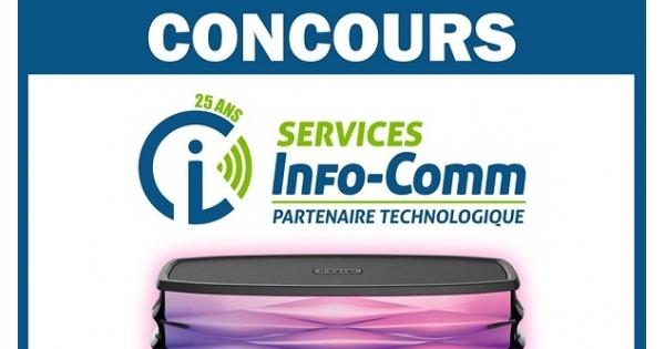 Concours Gagnez un Haut-parleur Bluetooth IHome!