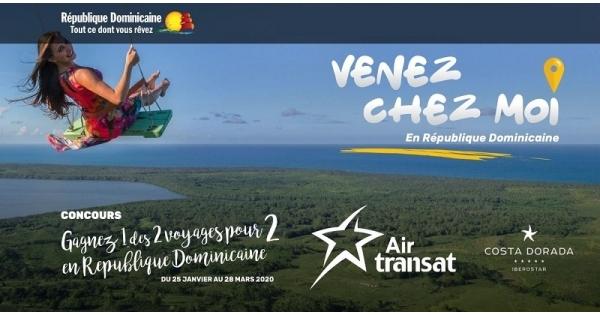 Concours Gagnez un voyage tout inclus pour 2 personnes à Puerto Plata en République Dominicaine!