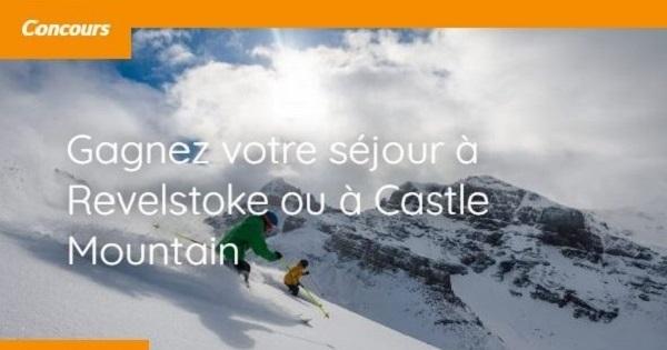 Concours Gagnez un séjour de cat-ski à Castle Mountain en Alberta!