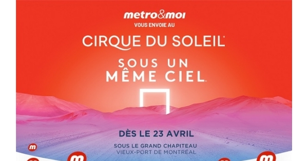 Concours Cirque du Soleil!