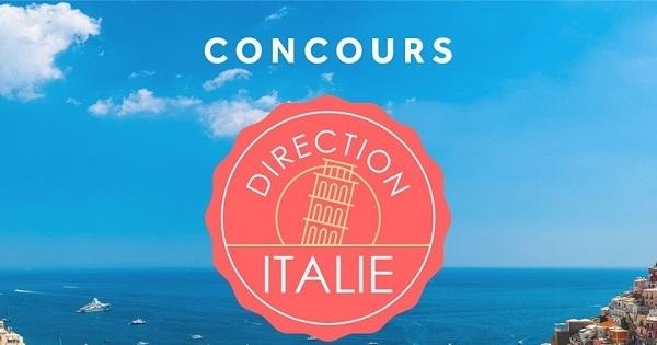 Concours Gagnez un voyage pour 2 en Italie!