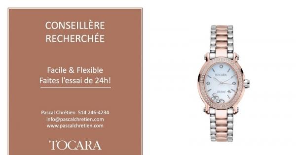 Concours Gagnez la montre or rose Gemma, d'une valeur de 379$ de TOCARA!
