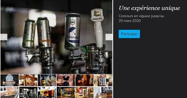 Concours Gagnez 4 passeports officiels de la Route des Brasseurs de la Mauricie!