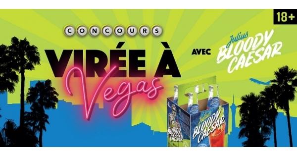 Concours Gagnez un voyage pour deux personnes à Las Vegas, d'une valeur de 5000$!
