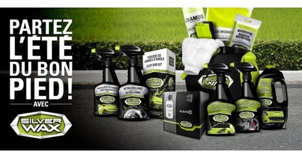 Concours Gagnez un des 3 ensembles de produits Silverwax!