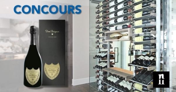 Concours Gagnez une bouteille de champagne Dom Pérignon d'une valeur de 262$!