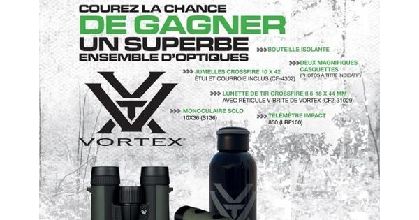 Concours Gagnez un superbe ensemble d'optiques Vortex!