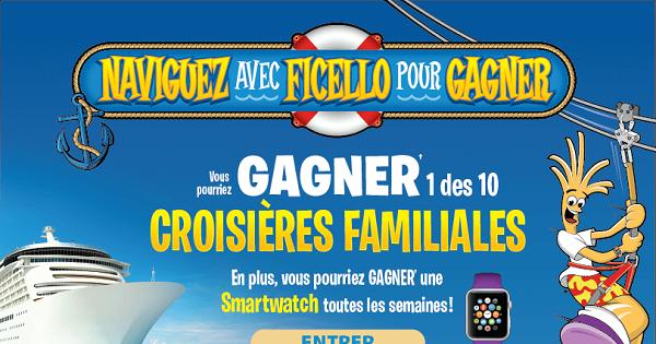 Concours Gagnez 1 des 10 croisières familiales dans les Caraïbes!