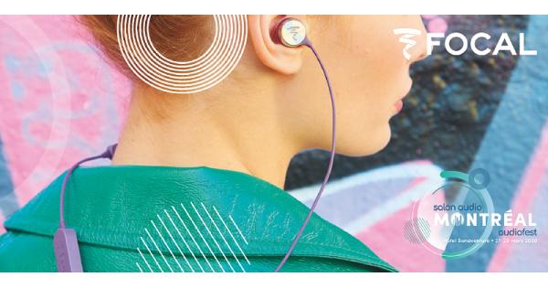 Concours Gagnez des écouteurs sans-fil Sphear de Focal grâce au Salon Audio de Montréal!