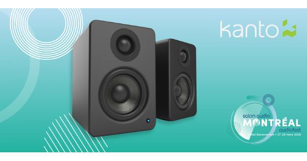 Concours Gagnez des haut-parleurs pour le bureau Kanto YU2 grâce au Salon Audio de Montréal!