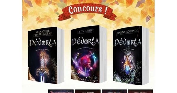 Concours Gagnez Dévoria, la toute nouvelle série à succès des Éditions AdA, ainsi que huit autres romans!