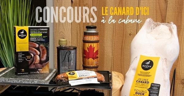 Concours Gagnez un ensemble-cadeau Canards du Lac Brome!