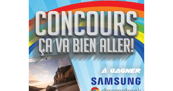 Concours Gagnez un portable Samsung Chromebook offert par Fleet info INC!
