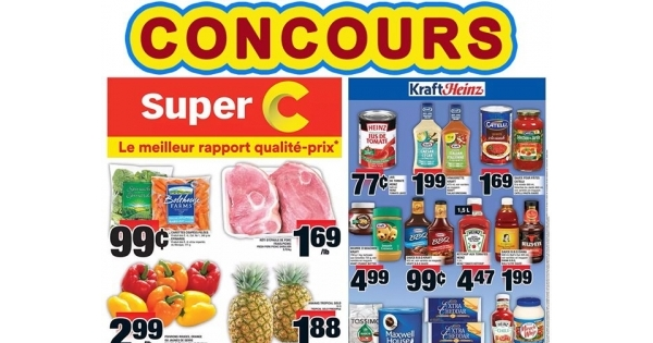 Concours Carte-Cadeau 100$ SuperC
