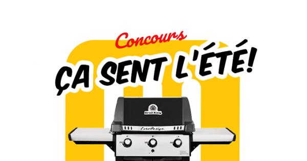 Concours Gagnez un barbecue Broil King de 40 000 BTU!