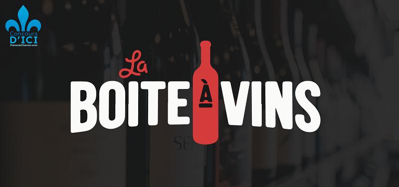 Concours Gagnez une caisse découverte ainsi qu'une carte cadeau de chez La boîte à vin!