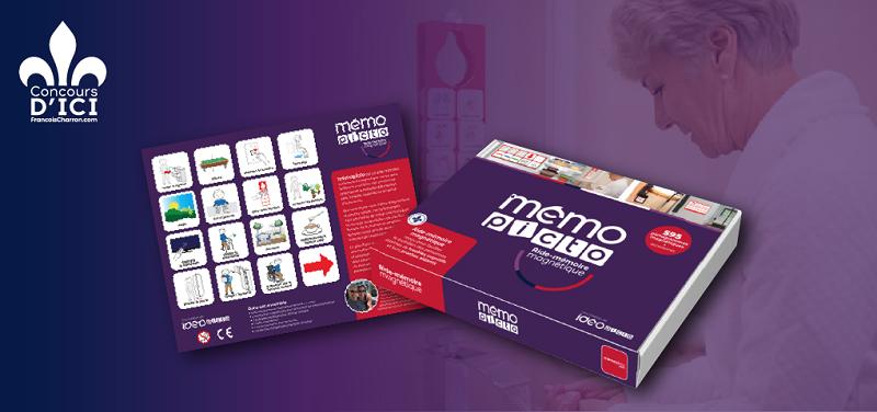 Concours Gagnez l'aide-mémoire imagé MÉMOpicto pour les personnes en perte d'autonomie!