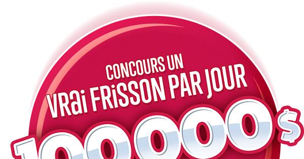 Concours Canada Dry Un Vrai Frisson Par Jour!