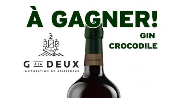 Concours Gagnez une bouteille de Gin Del Professore CROCODILE offerte par G À la Deux!