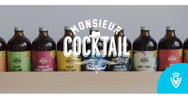 Concours Gagnez une carte-cadeau de 250$ chez Monsieur Cocktail en collaboration avec le site de Guide Vacances!