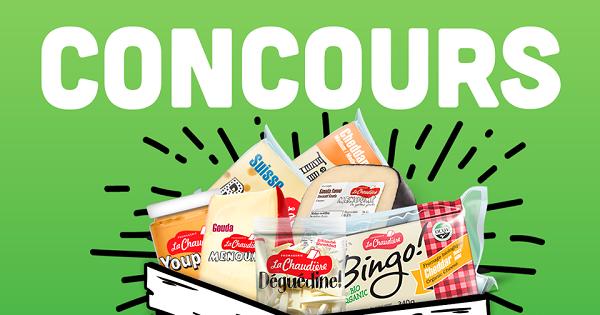 Concours Gagnez votre panier de fromages de La Chaudière pour la fête des Pères!