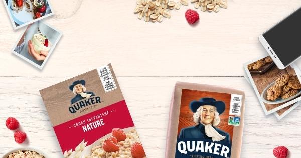 Concours Gagnez 2000$ en partageant une photo de votre recette préférée contenant des flocons d'avoine Quaker!