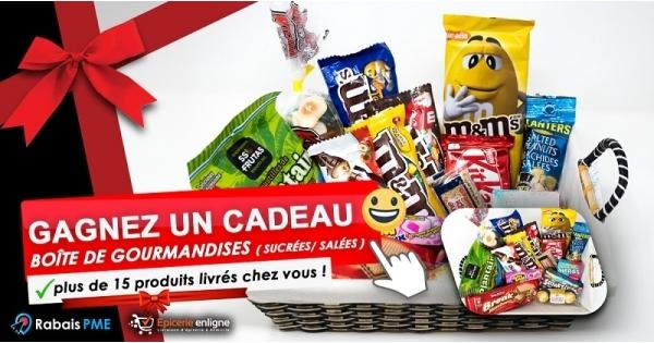 Concours Gagnez une Boîte de Gourmandises sucrées / salées!