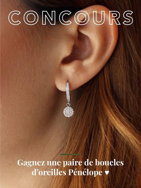 Concours Gagnez une paire de boucles d'oreille offerte par Ella Bijouterie!