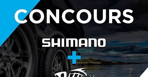 Concours Gagnez un combo de pêche offert par Shimano Quebec Pêche!