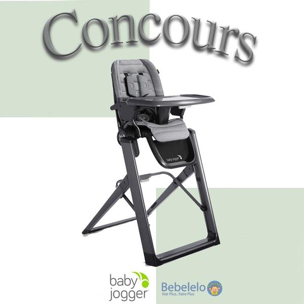Concours Gagnez la Chaise Haute Baby Jogger City Bistro!