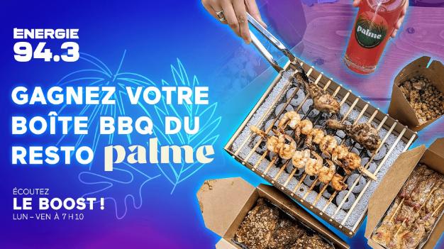 Concours Gagnez votre Boîte BBQ du Resto Palme