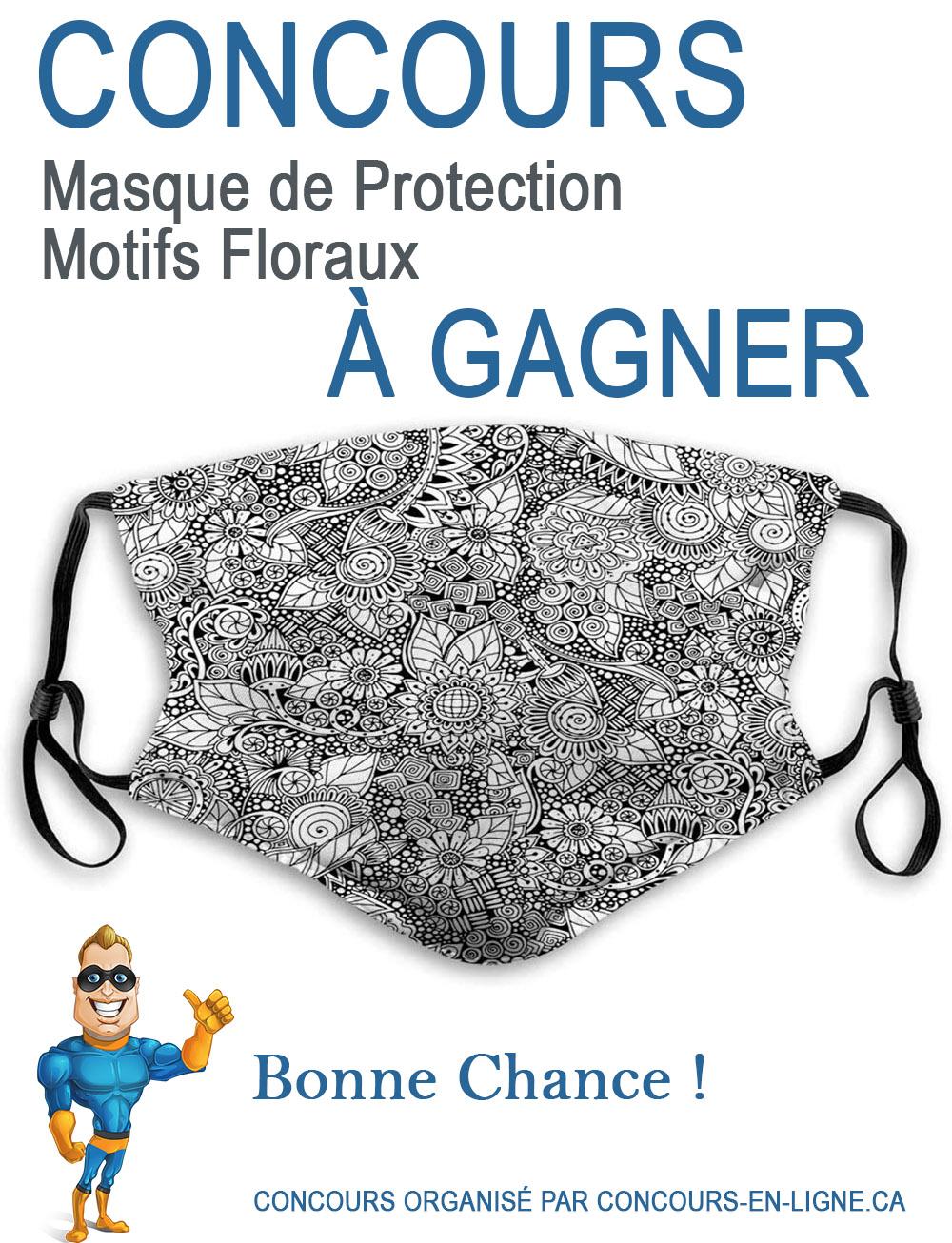 CONCOURS EXCLUSIF - Concours Masque de Protection à Gagner