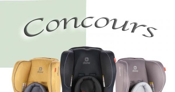 Concours Gagnez le Siège d'Auto Diono 2AX