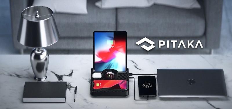 Concours Gagnez une station de recharge 6 en 1 de Pitaka pour charger tous vos appareils Apple!
