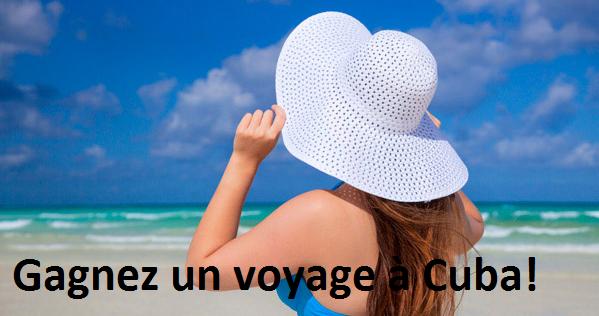 Concours Gagnez un voyage à Cuba